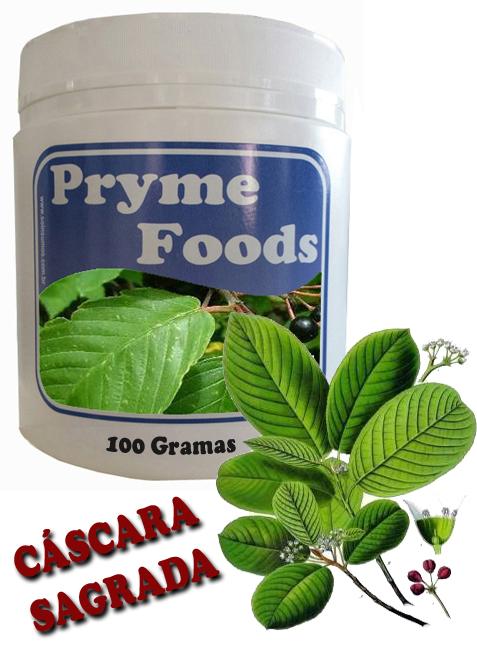 CASCARA SAGRADA 100 Grama Cascas Ervas Medicinais