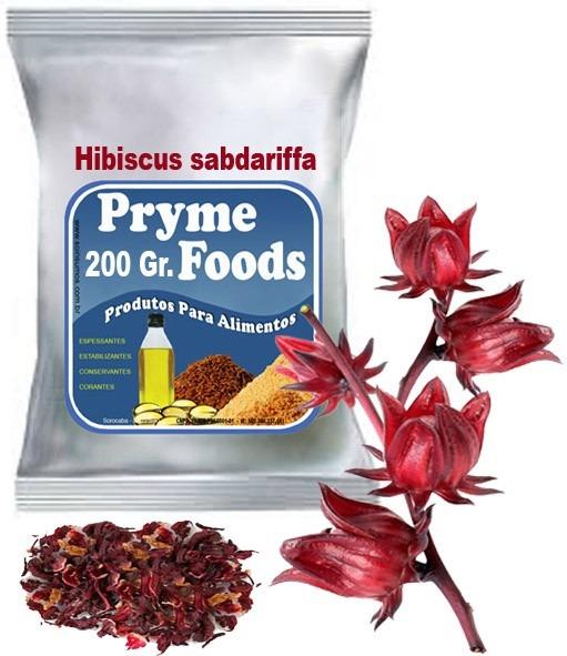 HIBISCO, Hibiscus sabdariffa 200 Gramas ervas medicinais